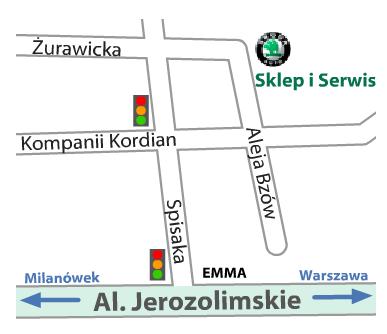 mapa ursus